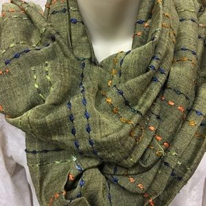 """Accessories - Scarf. Approximately 19""""in length.A13"""